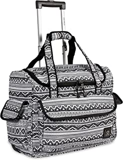 J World New York Donna Rolling Travel Tote