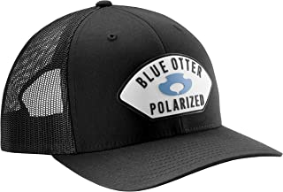 blue otter polarized hat