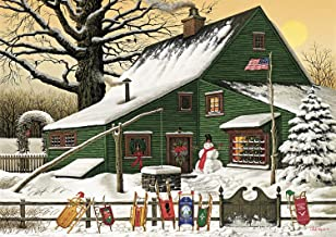 Buffalo Games - Charles Wysocki - Cocoa Break at The Copperfields - 500 Piece Jigsaw Puzzle