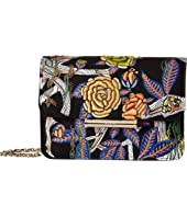 Jason Wu - Diane Floral Embroidered Chain Wallet