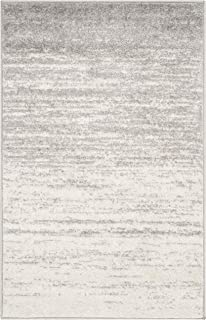 """Safavieh Adirondack Collection ADR113B Modern Ombre Area Rug, 2' 6"""" x 4', Ivory/Silver"""