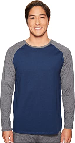 4Ward Clothing Long Sleeve Raglan Shirt - Reversible Front/Back