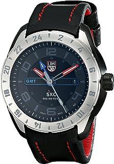 Luminox - LUMI-NOX 5127 - Reloj para Hombres, Correa de Cuero Color Negro