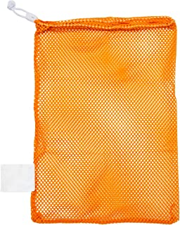 Best Champion Sports Mesh Sports Equipment Bag - Multipurpose Nylon Drawstring Sack with Lock and ID Tag for Balls, Beach, Laundry Review