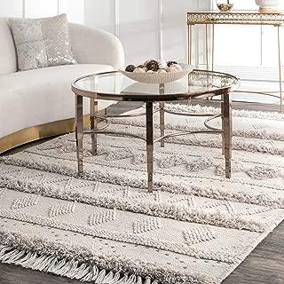 Best gray tassel rug Reviews