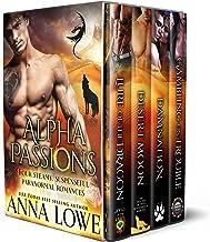 Alpha Passions: Four Steamy, Suspenseful Paranormal Romances