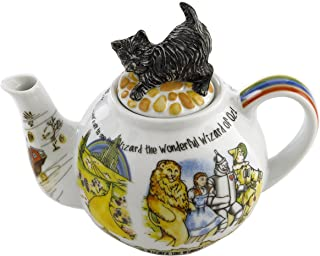 Cardew Design Wizard of Oz 6-Cup Teapot with Toto Lid, 48-Ounce