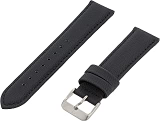 Momentum ZC-20FLE BLACK 20mm Flex Nylon Black Watch Strap