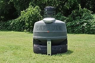 Capsule Feeders CAP-800 800 LB Hunting Game Feeder, Green