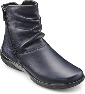 Hotter Women's Whisper Wide Fitting Twin Zip Fastening Casual Ankle Boot