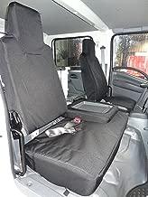 Durafit Seat Covers I2280-C1- Isuzu NPR Front 40/60 Split Bench Seat. Driver Side Bucket, Passenger Side Bench Black Endura Waterproof Seat Covers