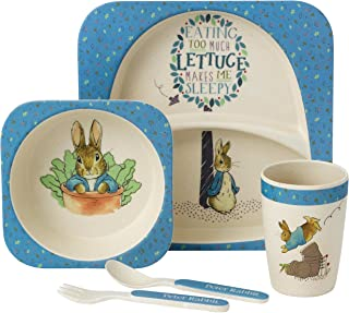 Beatrix Potter A27754 Peter Rabbit Organic Dinner Set