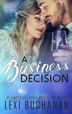 A Business Decision (McKenzie Cousins Book 2) (English Edition)