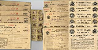 16 WAR RATION BOOKS & GASOLINE STAMPS: WWII