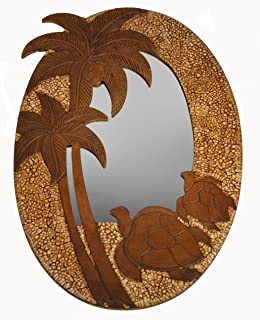 Best turtle mirror wall art Reviews