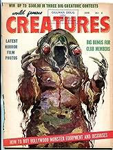 World Famous Creatures #4 June 1959- rare monster magazine- Frankenstein f/g