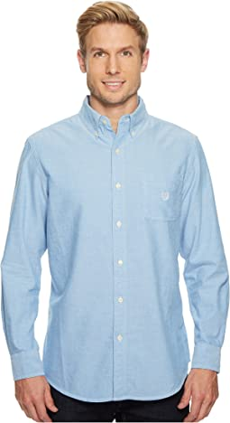 Long Sleeve Oxford Woven Shirt