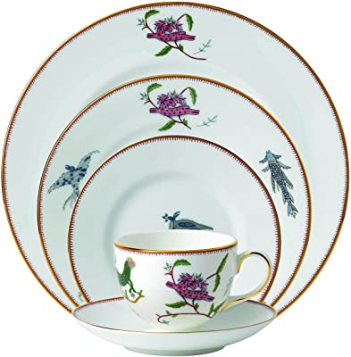 Wedgwood Mythical Creatures 5 Piece Place Setting, White