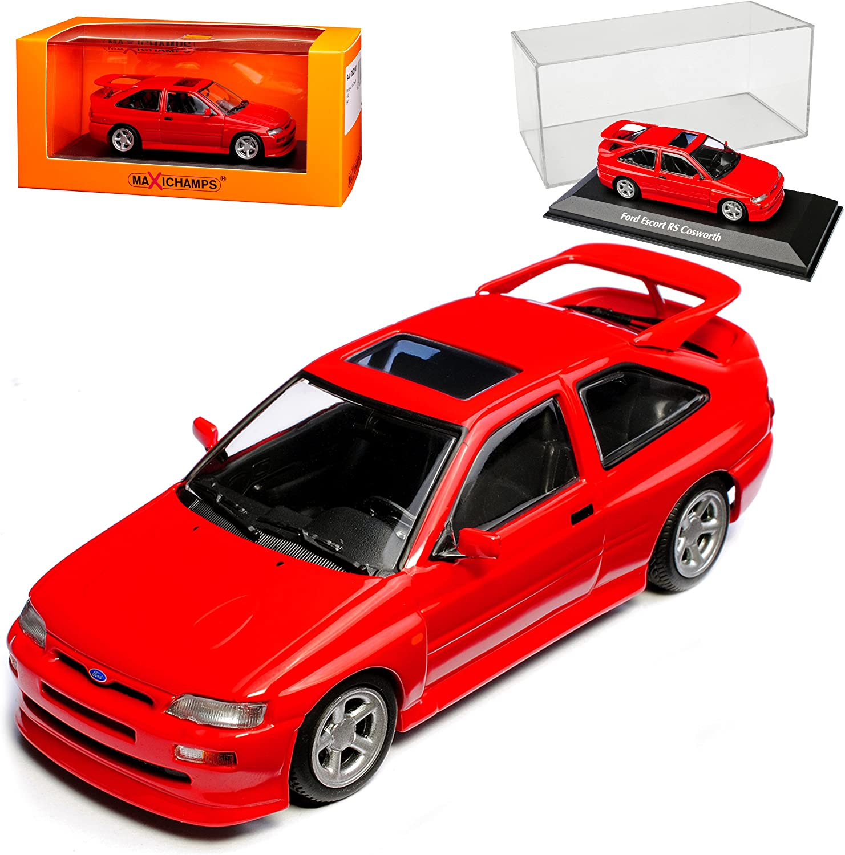 Minichamps Ford Escort RS Cosworth 5. Generation 3 Türer Rot 1990-2000 1 43 Maxichamps Modell Auto B074RBXSCJ  Moderater Preis | Verbraucher zuerst