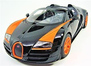 Radio Remote Control 1/14 Bugatti Veyron 16.4 Grand Sport Vitesse Licensed RC Model Car (Black)