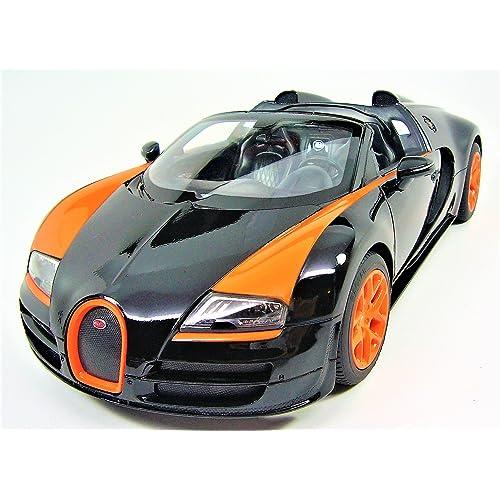 Bugatti Veyron Grand Sport Vitesse Painted In Black And: Bugatti Veyron: Amazon.com