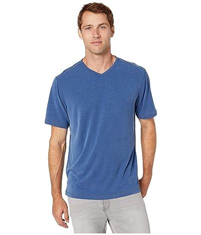 Tommy Bahama Tropicool Paradise IslandZone V-Neck T-Shirt (Island Navy) Men