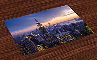 Best new york skyline placemats Reviews
