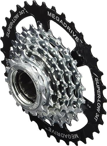 Juego de bielas para Bicicleta de monta/ña 32Z, 12 velocidades Sram SX Eagle Power Spline Color Negro