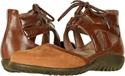 Amber Nubuck/Maple Brown Leather