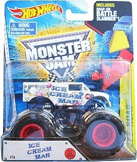 Hot Wheels Monster Jam 2015 Ice Cream Man (With Battle Slammer)