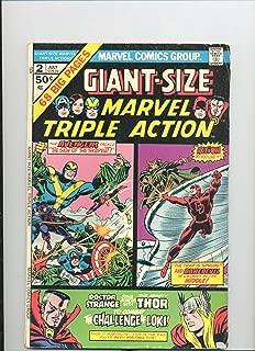 Giant-Size Marvel Triple Action #2, (Comic - July 1975) (Vol. 1)
