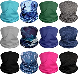 Diravo Neck Gaiter Bandana Headwear Face Mask Scarf Neck Tube Magic Headband