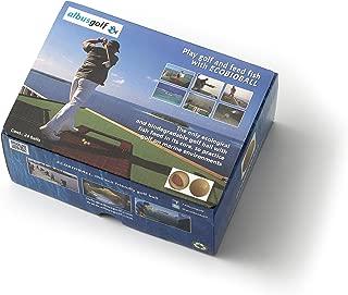 albusgolf 24 Ecobioball, Eco-Friendly Golf Ball for Marine Environments