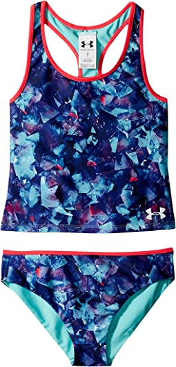 Under Armour Kids Metaquartz Rev Tankini (Big Kids)