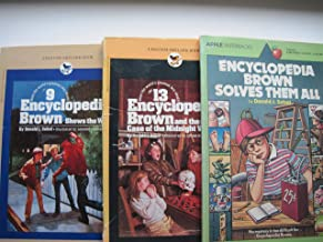 Encyclopedia Brown Books: #9 Shows the Way, #13 The Case of the Midnight Visitor, Solves Them All