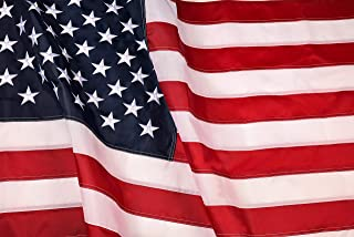 Best American Flag: Longest Lasting US Flag Made from Nylon - Embroidered Stars - Sewn Stripes - UV Protection Perfect for Outdoors! USA Flag (5x8 ft) Review