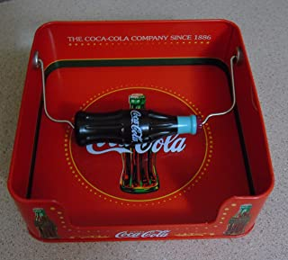 Coca-Cola Coke Napkin Dispenser Holder with Coke Bottle Handle