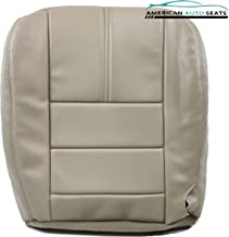 Us Auto Upholstery compatible with 2009 Ford 350 Lariat -Passenger Side Bottom Replacement Leather Seat Cover Ta