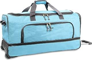 Piton Drop Bottom Rolling Duffel Bag