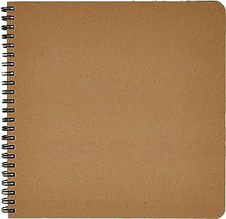 Caderno Wire O Kraft, Cicero, 2568, Bege, Grande (20X20)
