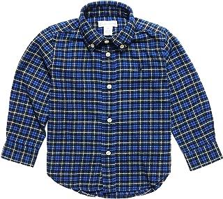 (ポロ ラルフローレン)POLO RALPH LAUREN ベビー 男の子 長袖 シャツ Plaid Cotton Twill Shirt ブルーマルチ Blue Multi (24M) [並行輸入品]