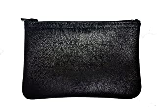 MJL Genuine Napa Leather Coin Purse. Buttery Soft. Made in USA.