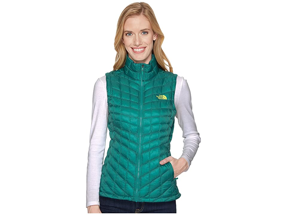 The North Face Thermoball Vest (Porcelain Green) Women