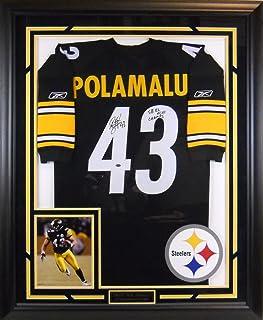 e1bdd56ad Amazon.com  Troy Polamalu - Pittsburgh Steelers - Sports ...