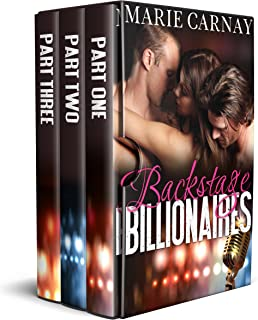 Backstage Billionaires: The Complete Serial (Menage Romance)