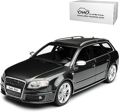 Audi A4 B7 RS4 Avant Kombi Daytona Grau 2004-2008 Nr 721 1 18 Otto Modell Auto