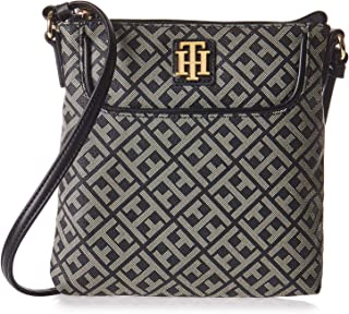 Tommy Hilfiger Crossbody Bag for Women - Faux Leather, Black
