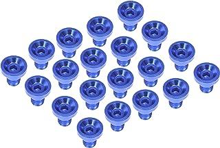 Dorman 712-X95D Wheel Nut Cap, Blue Aluminum (Pack of 20)