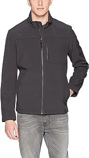 Men's Angle Placket Soft Shell Jacket