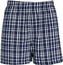 boxercraft Men's Cotton Flannel Plaid Boxer Sleep Shorts